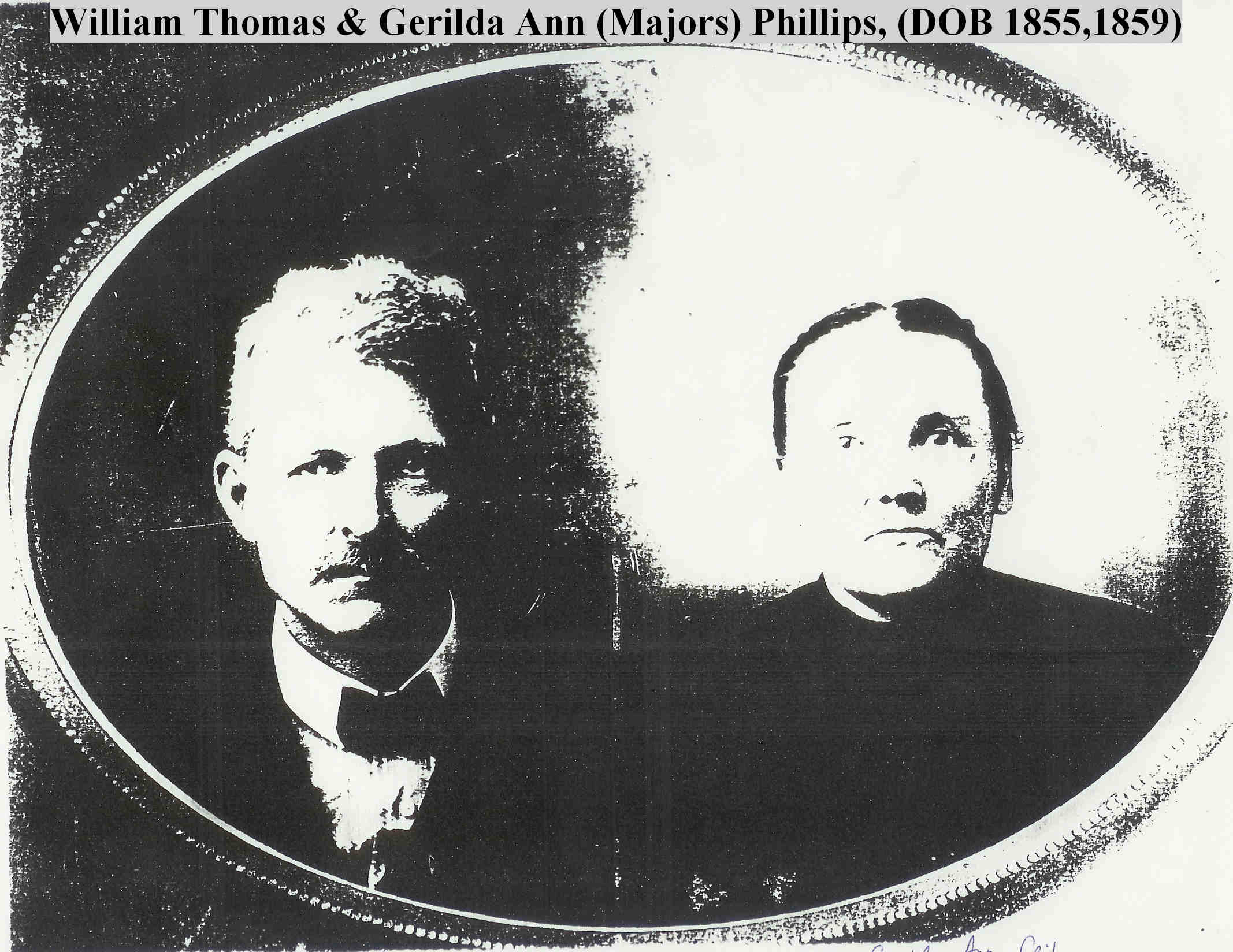 William Thomas Phillips and Wife